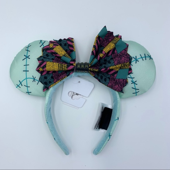 "Disney Parks Nightmare Before Christmas /""Sally/"" Ears Headband NWT Adult One Size"